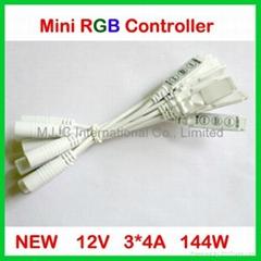 NEW Slim Mini RGB LED Controller 12V 144W