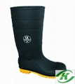 white pvc  rain boots  for food .hospital industry  5