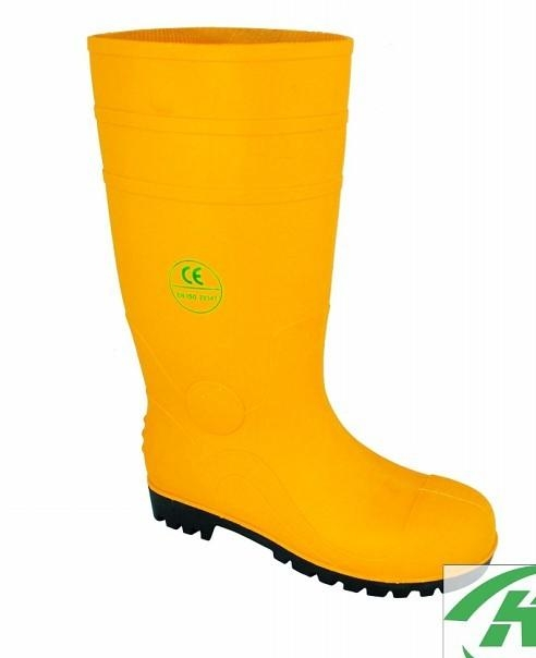 fishing pvc rian boots  gum boots .Safety Protective waterproof  3