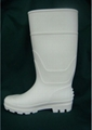 fishing pvc rian boots  gum boots .Safety Protective waterproof  5
