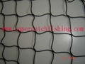 BLACK TAR TWISTED NYLON KNOTTED FISHING NETTING