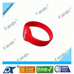 ISO RFID wristband made of silicone
