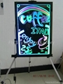 Flashing LED Writing board; LED Advertising Board(30*40cm) for sales promotion 2