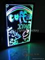 Flashing LED Writing board; LED Advertising Board(30*40cm) for sales promotion 5