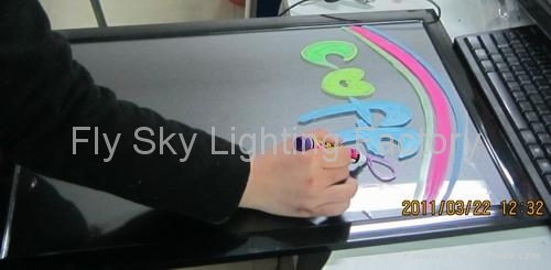 Flashing LED Writing board; LED Advertising Board(50*70cm) for sales promotion 1