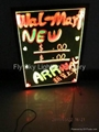 Flashing LED Writing board; LED Advertising Board(60*80cm) for sales promotion 3
