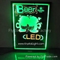 Flashing LED Writing board; LED Advertising Board(60*80cm) for sales promotion 5