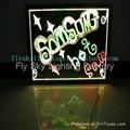 Flashing LED Advertising Board(40*60cm) Aluminum alloy frame for sales promotion 2