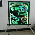 Flashing LED Advertising Board(40*60cm) Aluminum alloy frame for sales promotion 5