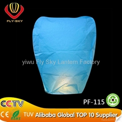 ECO fire retardant sky lantern with CE certificate