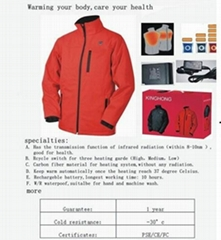 a  new hightech heated safe jackets