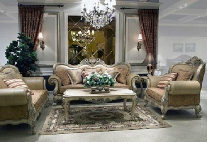 Living Room Furniture Sets FUL001 China Trading Company Living Room Fur