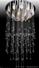 水晶吊線燈