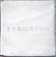 22克涤棉漂白小方巾