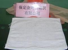 25克漂白小方巾