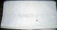 40克纯棉漂白小方巾