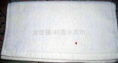 50克纯棉小方巾/酒店专用