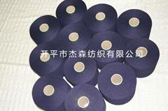 靛藍針織牛仔紗