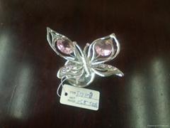 金属蝴蝶小摆件工艺礼品