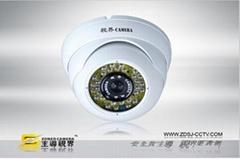 红外系统半球摄像机