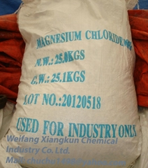 Magnesium Chloride Hexahydrate Flakes 98% min