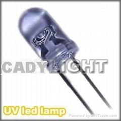 UV led light,5mm/dip,ultraviolet light