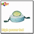3W power led (white,red,yellow