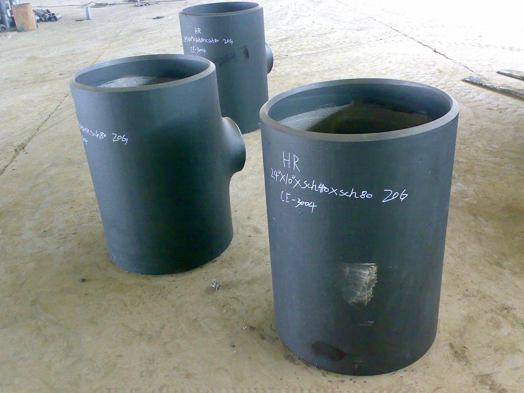 butt welded tee pipefittings 2