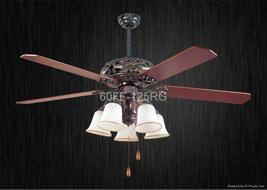 60'' ceiling fan with light kit 5 blades 1