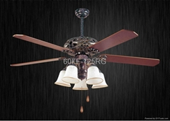60'' ceiling fan with light kit 5 blades