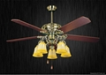60'' ceiling fan with light kit 5 blades 2