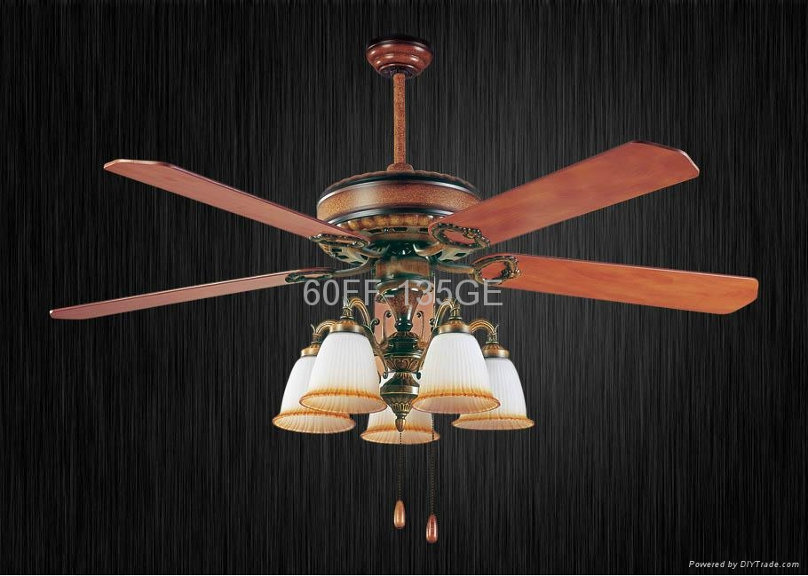 60'' ceiling fan with light kit 5 blades 3
