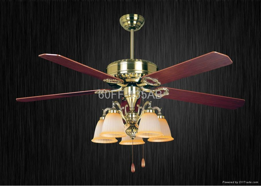 60'' ceiling fan with light kit 5 blades 4
