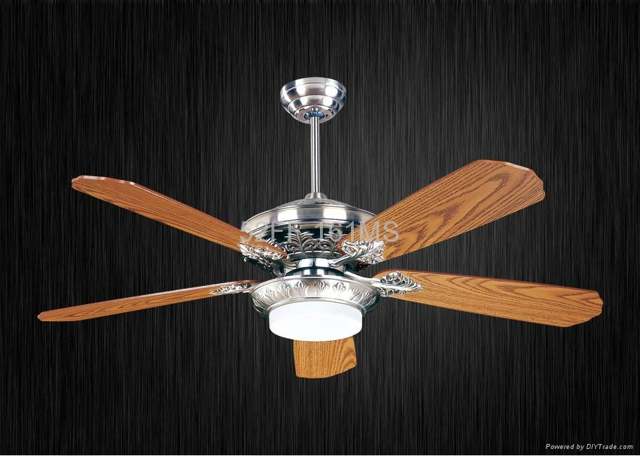 52 ceiling fan with LED light and remote control 52FF 161WB