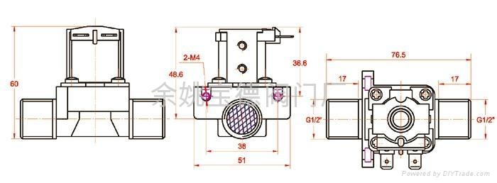 太阳能电磁阀 4图片