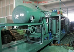 Decoloring Engine Oil Purifier Machine