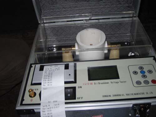 BDV Breakdown Voltage Oil Tester 1