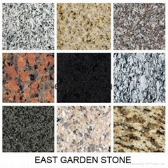 Various Color Granite Tile