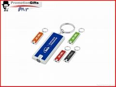 promotional plastic mini led keychain
