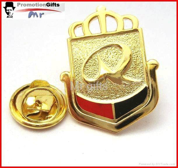 custom souvenior metal lapel pin badge 1