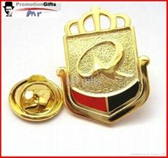 custom souvenior metal lapel pin badge