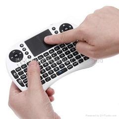 MINI wireles keyboard  for for HTPC/IPTV  laptop talet pc