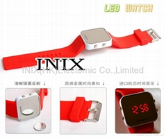 LED watches mirror watches