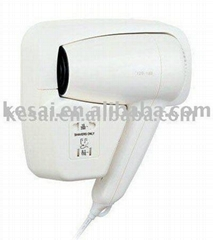 Hotel Hair Dryer direct-wire KRCY120-18B,hair dryers,wall mount hair dryer,blow
