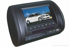 "7"" Car Headrest DVD player with Mulit-media"