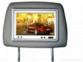 Headrest Car DVD player with Game and IR