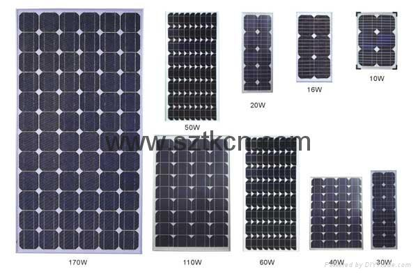 mono-crystalline solar panel/multi-crysal solar panel