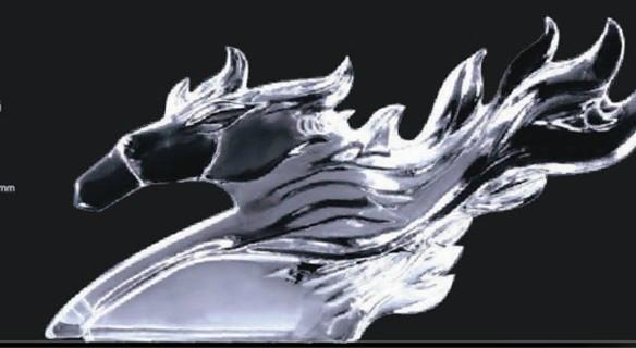 水晶戰馬擺飾 1