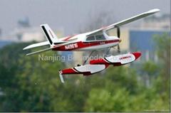 赛斯纳遥控水上飞机模型
