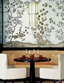 hand-painted Chinese traditional art wallpaper silk wallcoverings 3